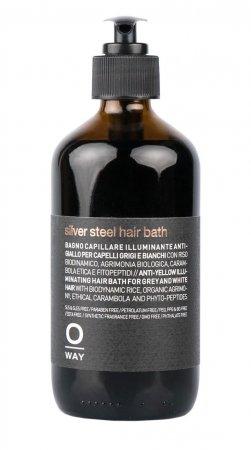OWay Man Specialist, kąpiel, szampon do włosów siwych, 240ml