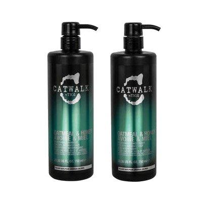 Tigi Tweens Oatmeal&Honey, zestaw nawilżający: szampon 750ml + odżywka 750ml