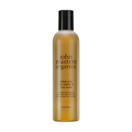 John Masters Organics, tonik oczyszczający włosy i utrwalający kolor, 236ml