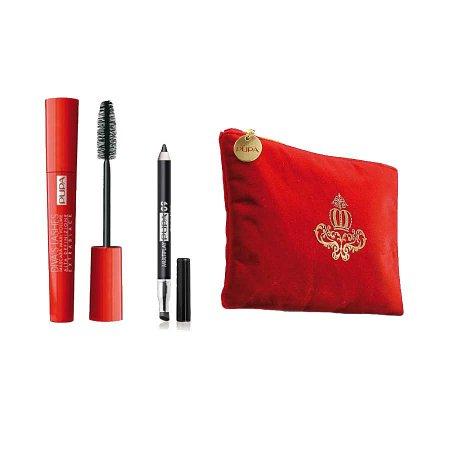 Pupa Diva Kit, zestaw do makijażu oczu w kosmetyczce