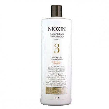 Nioxin System 3, szampon oczyszczający, 1000ml