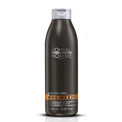 Loreal Homme Fiberboost, szampon przywracający objętość włosom, 250ml