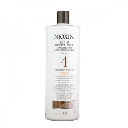 Nioxin System 4, Scalp Revitalizer, lekka odżywka, 1000ml