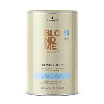 Schwarzkopf BlondMe, Premium Lift 9+, rozjaśniacz w proszku, bezpyłowy, 450g