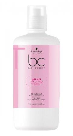 Schwarzkopf BC Color Freeze pH 4.5, maska do włosów farbowanych, 750ml