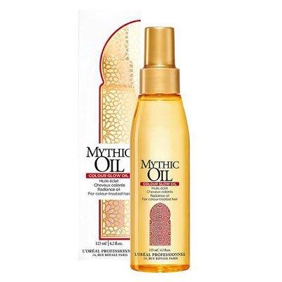 Loreal Mythic Oil Colour Glow, luksusowy olejek pielęgnacyjny do włosów farbowanych, 125ml