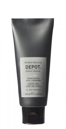 Depot No. 802, oczyszczający peeling do twarzy, 100ml