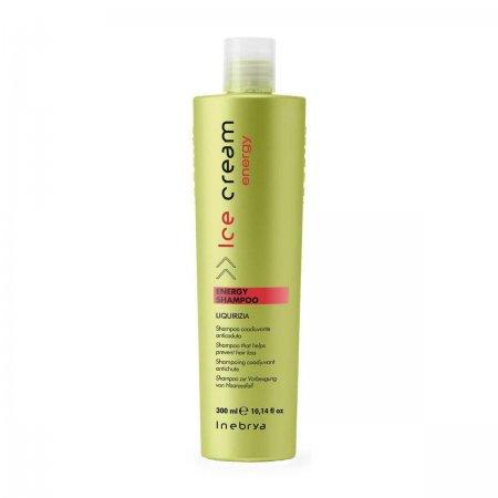 Inebrya Energy, szampon wzmacniający ekstraktem z pokrzywy i pieprzu, 300ml