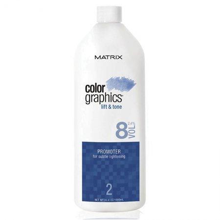 Matrix Color Graphics, promotor, oksydant, 2,4%, 8 vol, 946ml