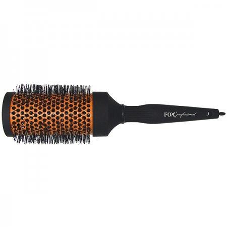 Okrągła, pomarańczowa szczotka do włosów Fox, 53mm - brak możliwości wyciągnięcia szpikulca