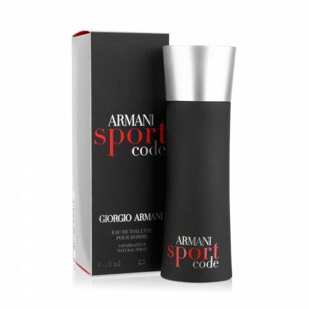 Giorgio Armani Code Sport, woda toaletowa, 75ml (M)