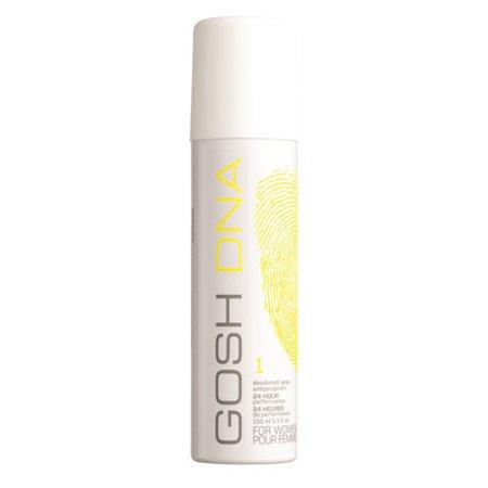 Gosh Dna 1, dezodorant damski, 150ml (W)