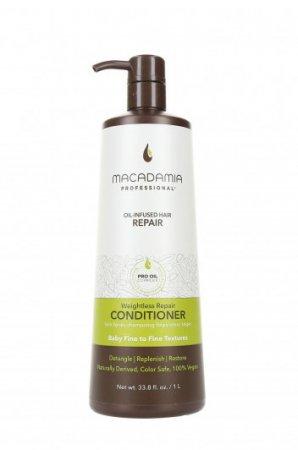 Macadamia Professional Vege, lekka odżywka do włosów cienkich, 1000ml