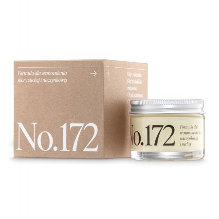 Make Me Bio Receptura 172 WZMOCNIENIE, krem dla skóry naczynkowej i suchej, 50ml