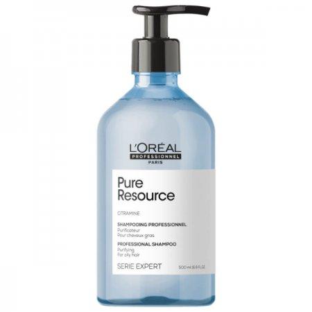 Loreal Pure Resource, szampon oczyszczający, 500ml