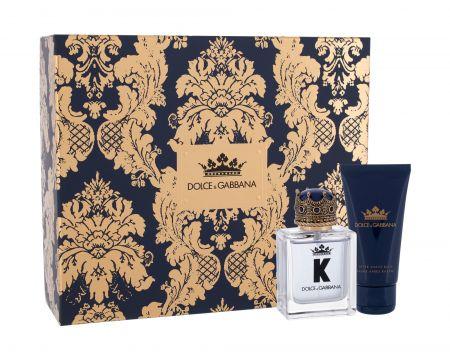 Dolce&Gabbana K, zestaw: EDT 50 ml + Balsam po goleniu 50 ml (M)