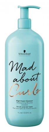 Schwarzkopf Mad About Curls, gęsta pianka oczyszczająca do loków, 1000ml