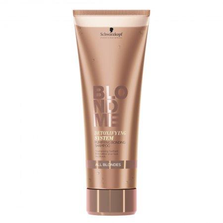 Schwarzkopf Blond Me Detox, detoksykujący szampon wzmacniający wiązania, 250ml