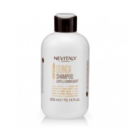 Nevitaly Quinoa, szampon do włosów zniszczonych, 300ml