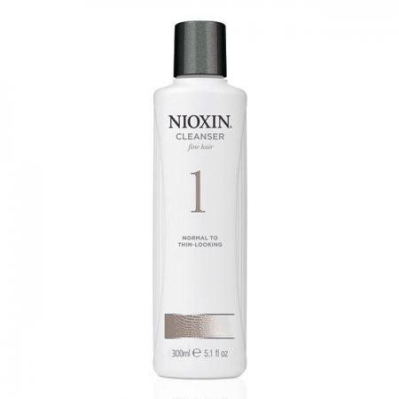 Nioxin System 1, szampon oczyszczający, 300ml