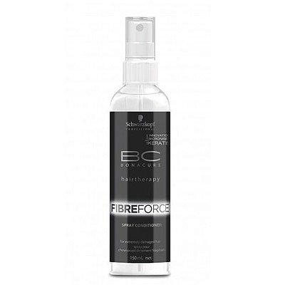 Schwarzkopf BC Fibre Force, odżywka z keratyną do włosów bardzo zniszczonych, bez spłukiwania, spray, 150ml
