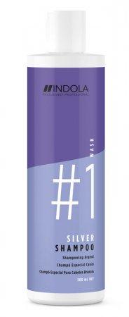 Indola Silver, szampon do siwych włosów, 300ml