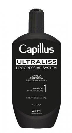 Capillus Ultraliss Nanoplastia, szampon oczyszczający, krok 1, 400ml