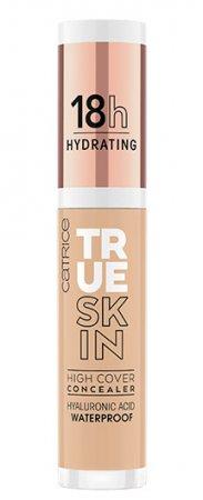 Catrice True Skin High Cover, nawilżający korektor mocno kryjący, Neutral Biscuit 032, 4,5ml