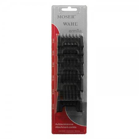 Nakładki dystansowe do maszynek Wahl Power+, Moser, Ermila, 6 sztuk
