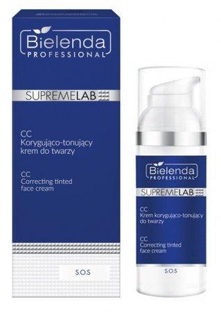 Bielenda Professional Supremelab, S.O.S, CC korygująco-tonujący krem do twarzy, 50ml