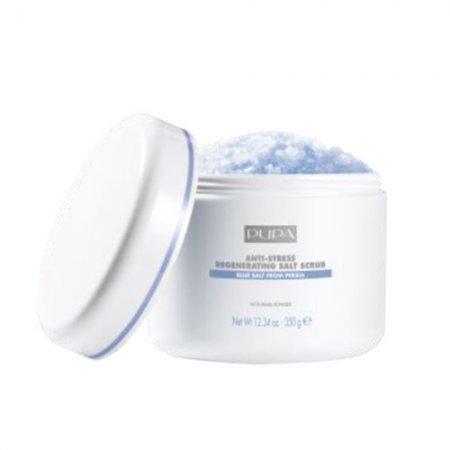 Pupa Home SPA, regenerująco - antystresowy peeling solny, 350g