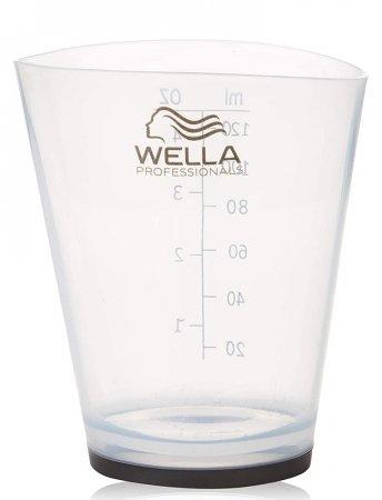 Wella, menzurka z podziałką, transparentna, 120ml