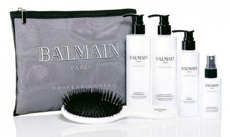 Zestaw pielęgnacyjny do włosów przedłużanych Balmain Beauty Bag - uszkodzone opakowanie