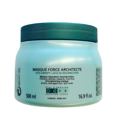 Kerastase Resistance Masque Force Architecte [1-2], maska do włosów średnio zniszczonych, 500ml