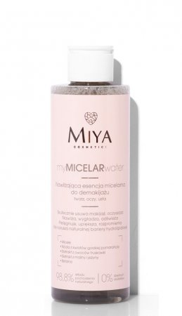 Miya My Micelar Water, micelarna esencja do demakijażu, 200ml