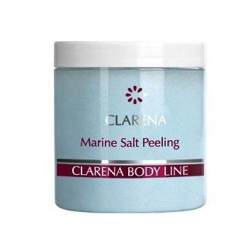 Clarena Body Slim Line, wyszczuplający peeling solny do ciała, morski, 250ml