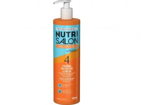 NutriSalon Argan Oil, odżywka termoochronna, krok 4, 500ml
