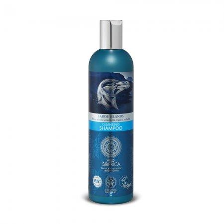 Natura Siberica Faroe Islands, oczyszczający szampon do włosów, Odświeżenie i Pielęgnacja, 400ml