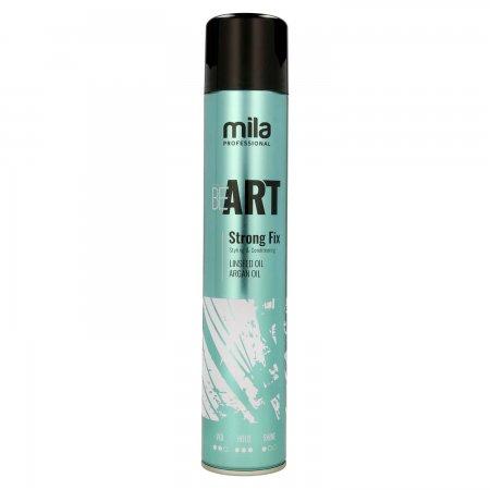 Mila Professional Be Art Strong Fix, lakier mocno utrwalający, 500ml
