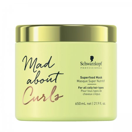 Schwarzkopf Mad About Curls Superfood, maska do loków, 650ml