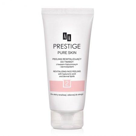 AA Prestige, rewitalizujący peeling do twarzy z kwasem hialuronowym, 75ml