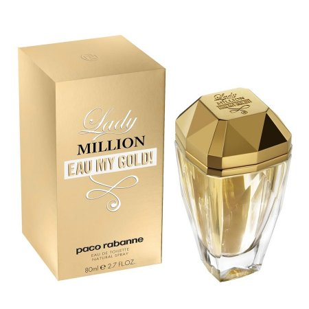 Paco Rabanne Lady Million Eau My Gold!, woda toaletowa, 50ml (W)