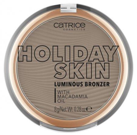 Catrice Holiday Skin Luminous, puder brązujący 020, 8g