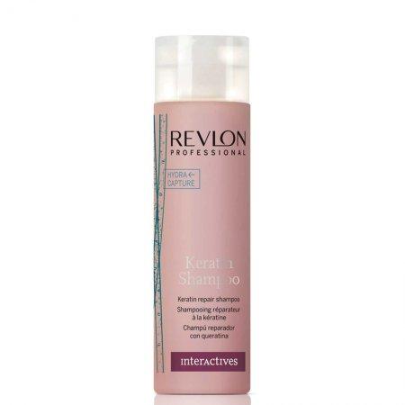 Revlon Interactives Keratin, szampon regenerujący z keratyną, 250ml