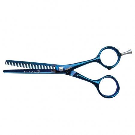 """Tondeo A-Line Spider Blue Classic 5.25"""" Effi, degażówki fryzjerskie, 33 zęby"""