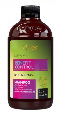 Three Therapy Benefit Control, szampon regenerujący, 1000ml