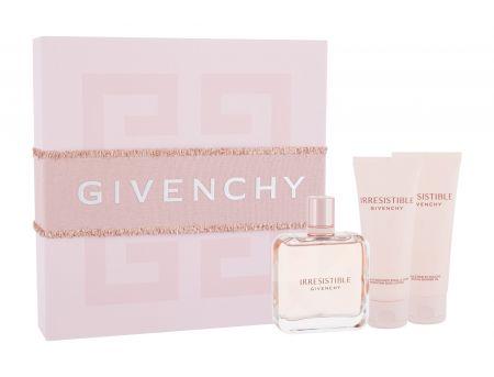 Givenchy Irresistible, zestaw: Edp 80 ml + Mleczko do ciała 75 ml + Żel pod prysznic 75 ml (W)