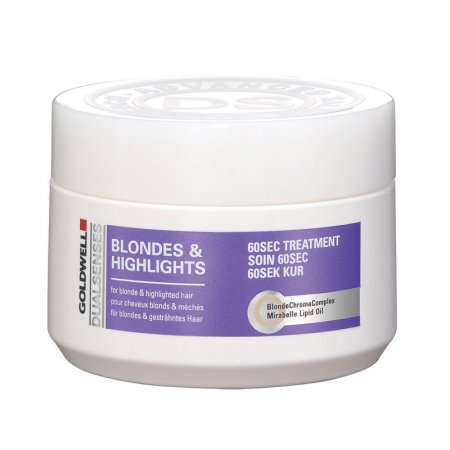 Goldwell Dualsenses Blondes&Highlights, 60 sekundowy balsam do włosów blond i z pasemkami, 200ml