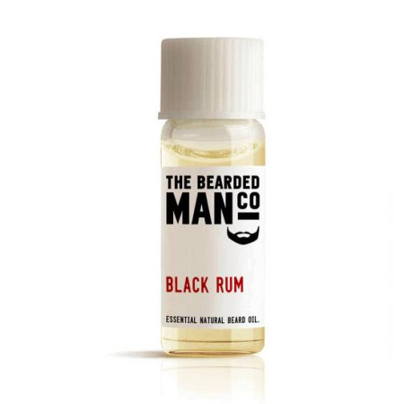Bearded Man Black Rum, olejek do brody Czarny Rum, 2ml