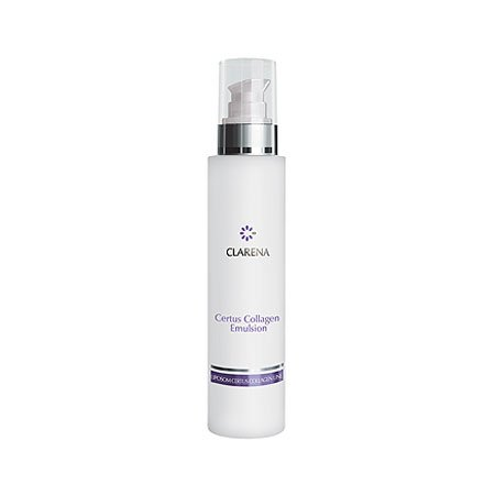 Clarena Certus Collagen, liposomowa emulsja do demakijażu z kolagenem, 200ml